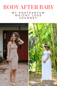 This moms journey with postpartum weight loss