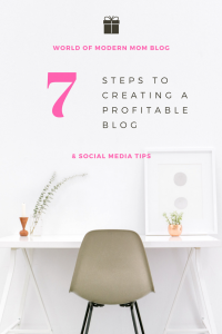 7 steps to creating a profitable blog