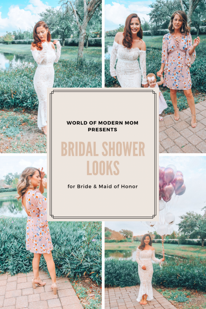 Bridal Shower looks for Bride & Maid of Honor