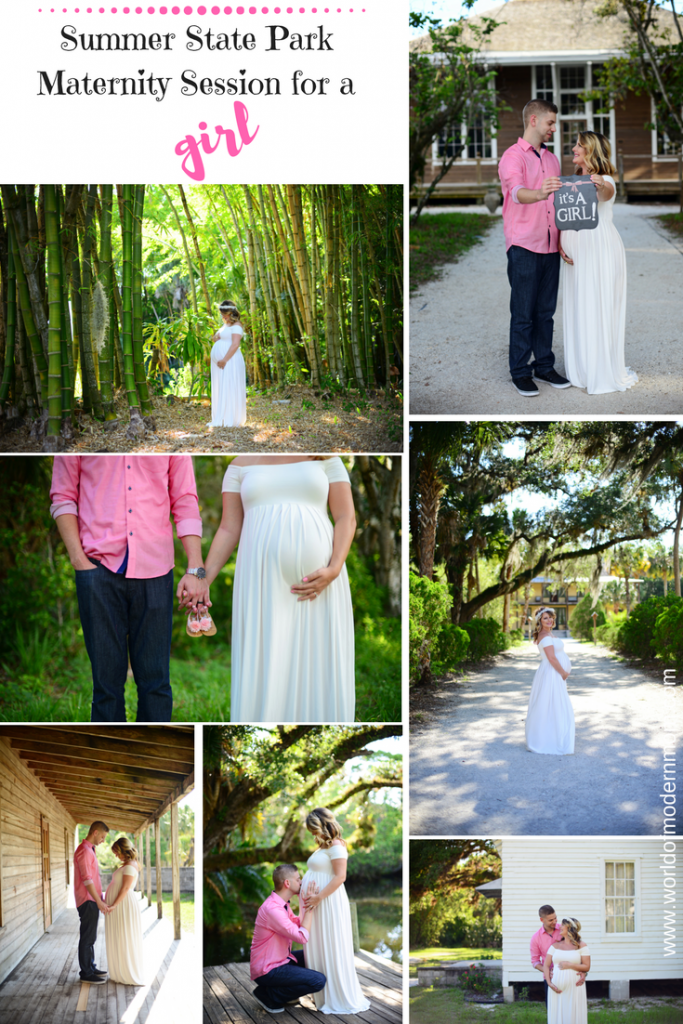 Florida State Park Maternity Session