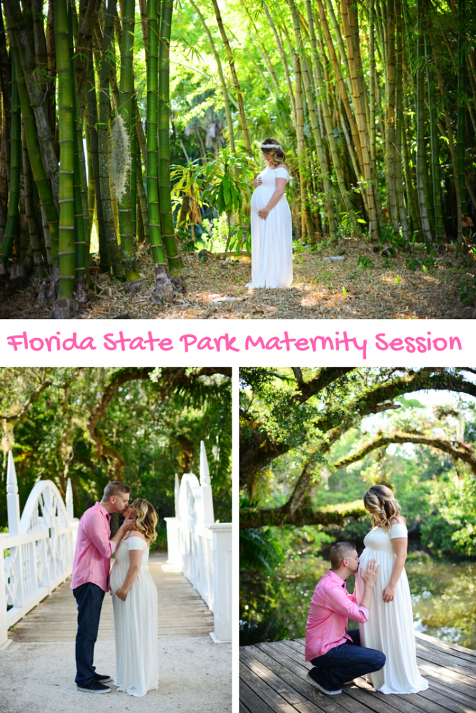 State Park Summer Maternity Session