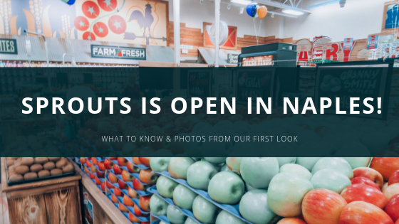 Sprouts is now OPEN!