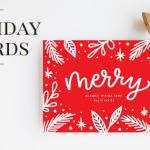 Basic Invite- Holiday Cards