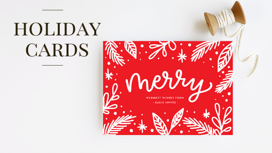Basic Invite – Holiday Cards