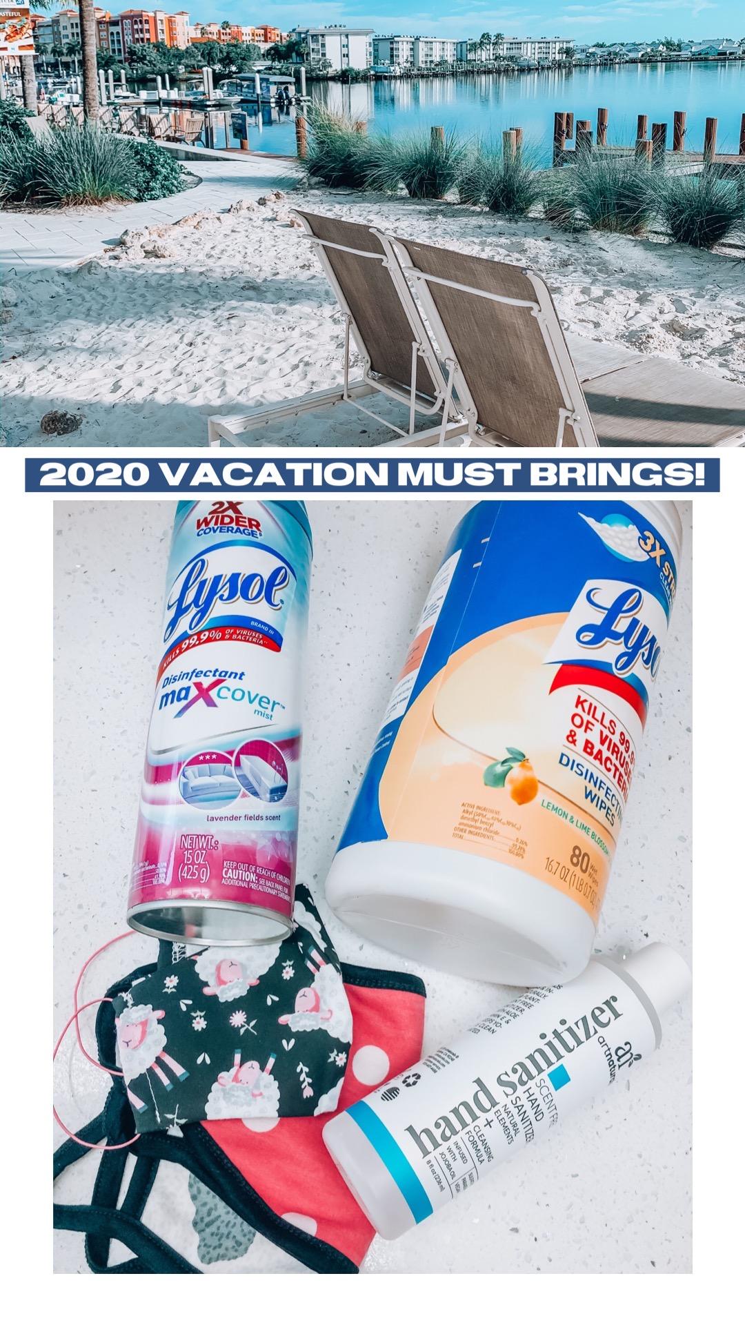 2020 Vacation MUST brings!!