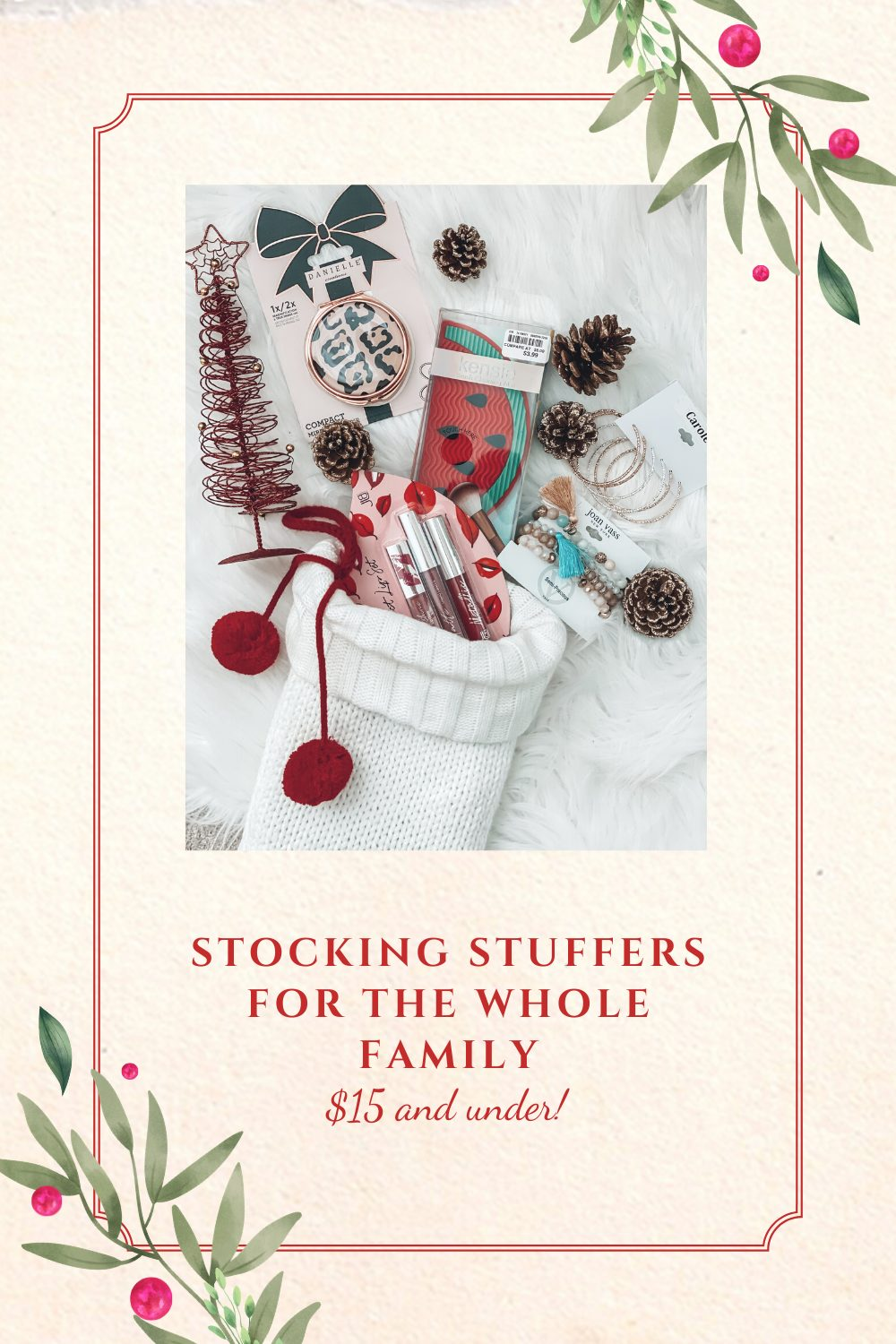 Stocking stuffer ideas for the whole family!