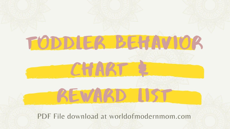 Toddler Behavior & Chore System that Works!