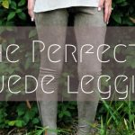 The Perfect Suede Leggings