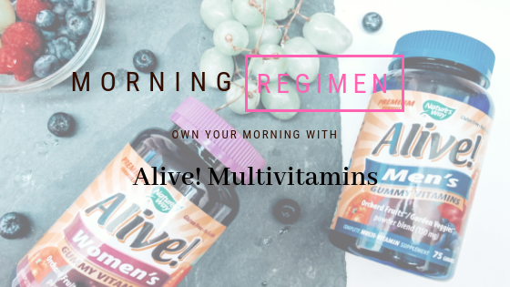 Our Morning Regimen: Owning our mornings