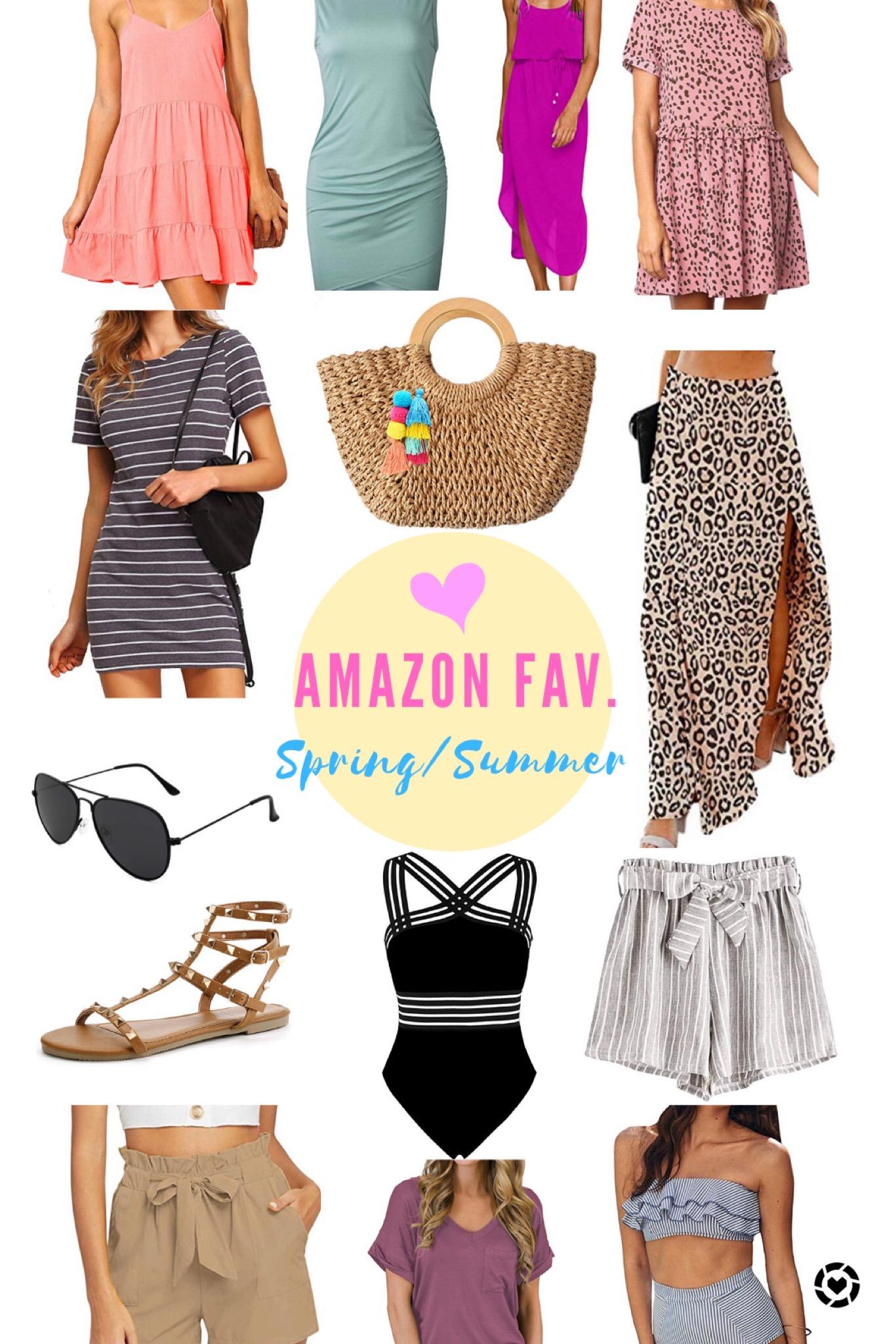 Amazon Spring & Summer Favs.
