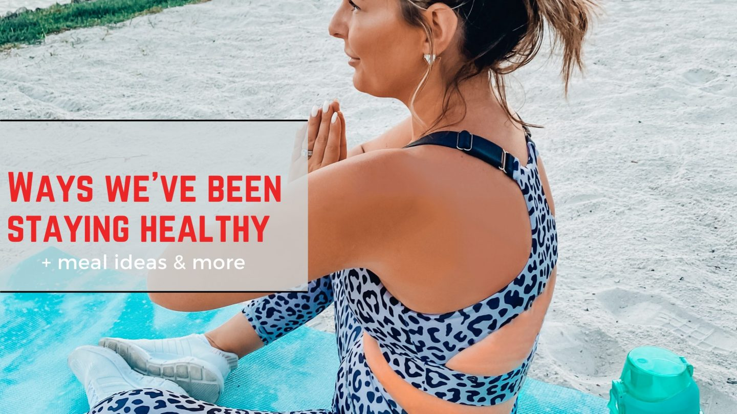 Why staying active & eating healthy is important to us!